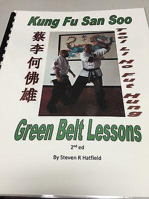 San Soo Kung Fu Green Belt Lesson Book - Over 230 Illustrations!