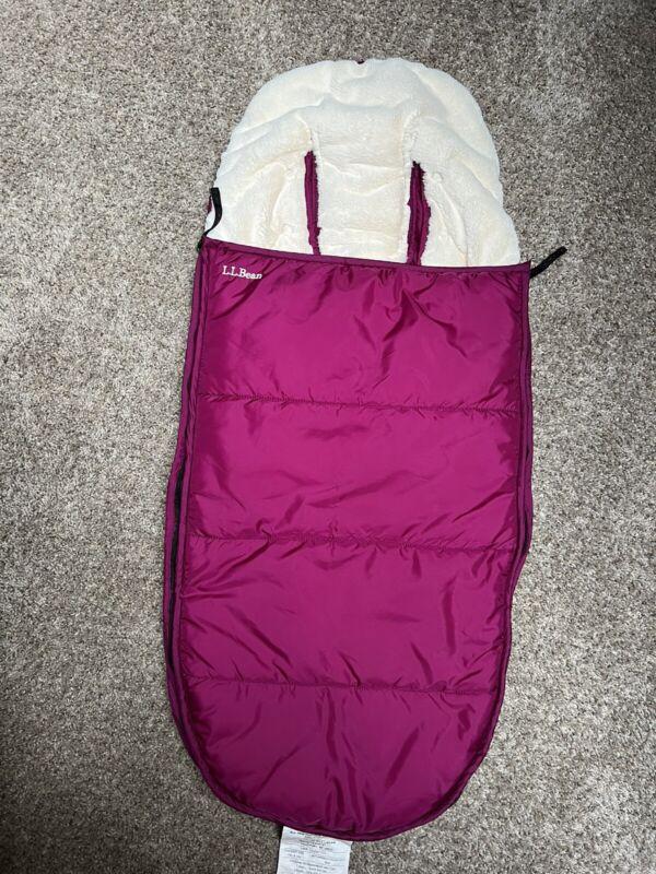 L.L.Bean Adventure Snow Bunting Kids infant toddler Purple