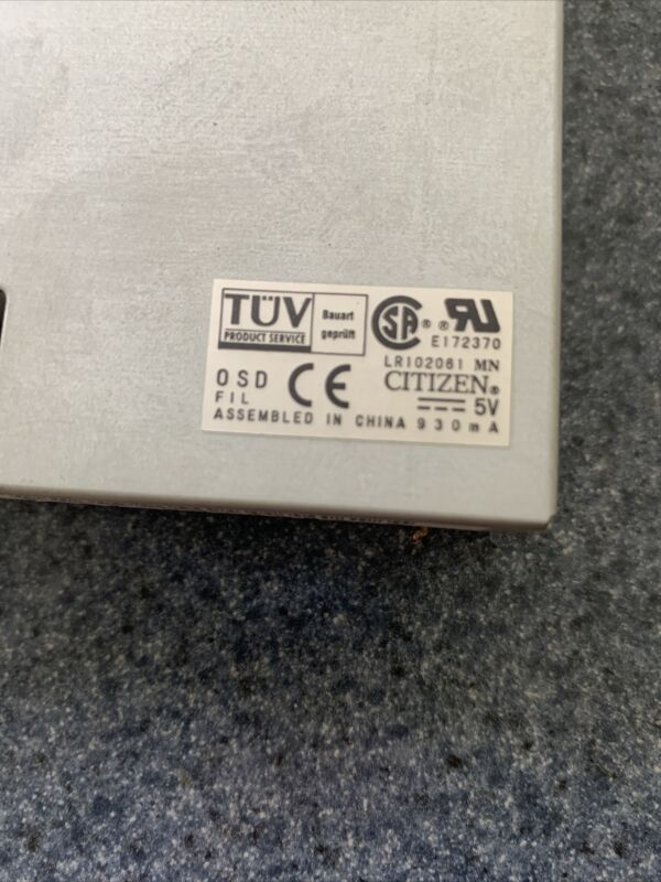 Mitsubishi Wire EDM Floppy Drive For FX,FX-K, SX, CX. Series