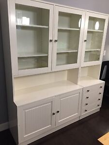 Buffet and hutch cabinet