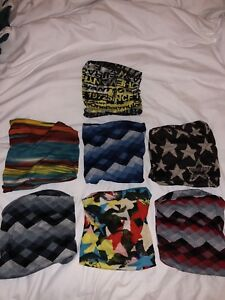 Brand new Colourful neck warmers