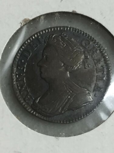 1707 3 PENCE MAUNDY SILVER COIN