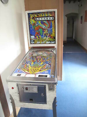 Zaccaria Ten Stars Pinball Machine - working (see description) - 1976