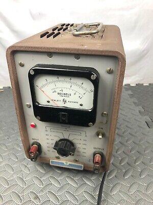 Vintage Hewlett Packard HP 400H Vacuum Tube Voltmeter