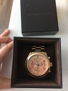 Rose gold special edition Michael kors watch
