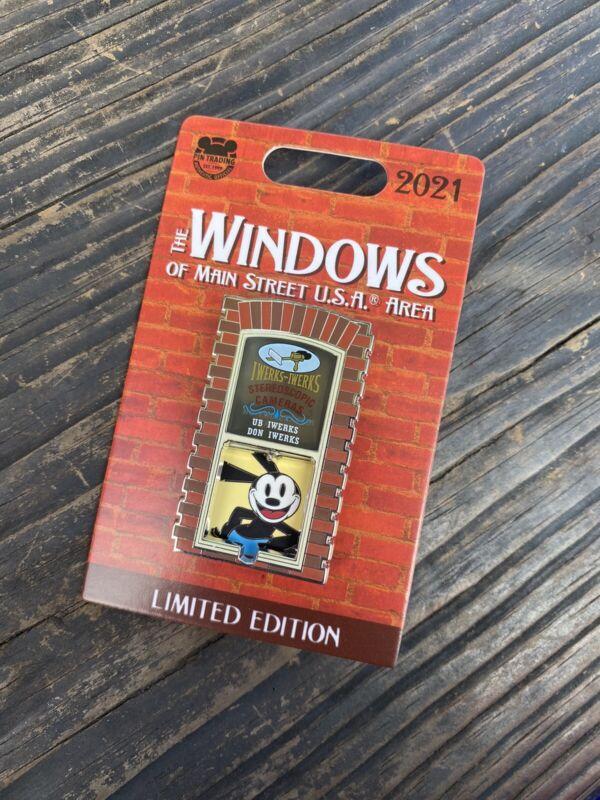 Disney The Windows Of Main Street USA Oswald The Lucky Rabbit Pin LE
