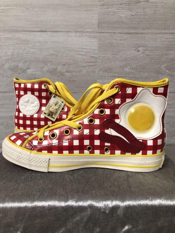 Vintage Rare Converse Limited Edition Cabin Bacon & Eggs Shoes Men 6.5 Women 8.5