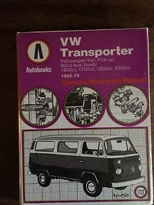 VW Transporter Owners Workshop Manual 1968 - 1978 Wakefield Area Preview
