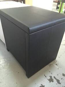 Brand New 2 drawers PU Bedside Tables Cabinets Black/White Clayton South Kingston Area Preview