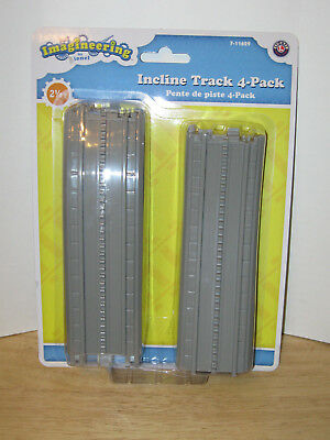 Imagineering by Lionel Incline Track 4-Pack #7-11629 NIP VHTF