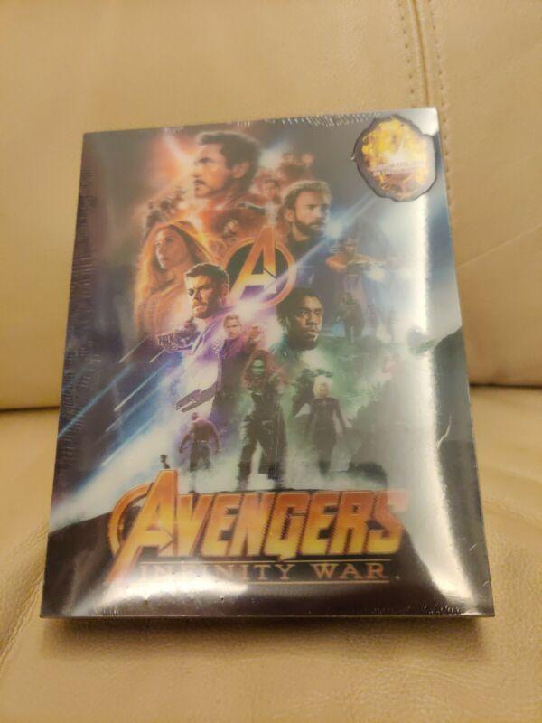 Avengers Infinity War Blufans Steelbook,  Double Lenticular, New/Mint