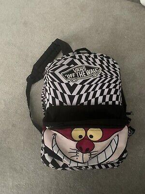 Disney X Vans Cheshire Cat Alice In Wonderland Backpack