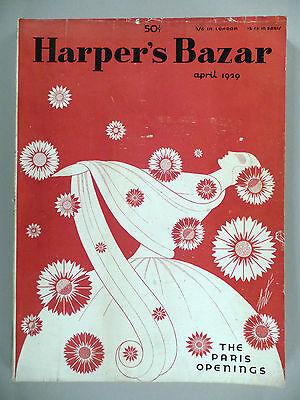 Harper's Bazar - April, 1929 -- Erte cover -- Harper's Bazaar