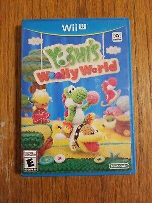 Yoshi's Woolly World (Nintendo Wii U, 2015) Yarn Themed Video Game.