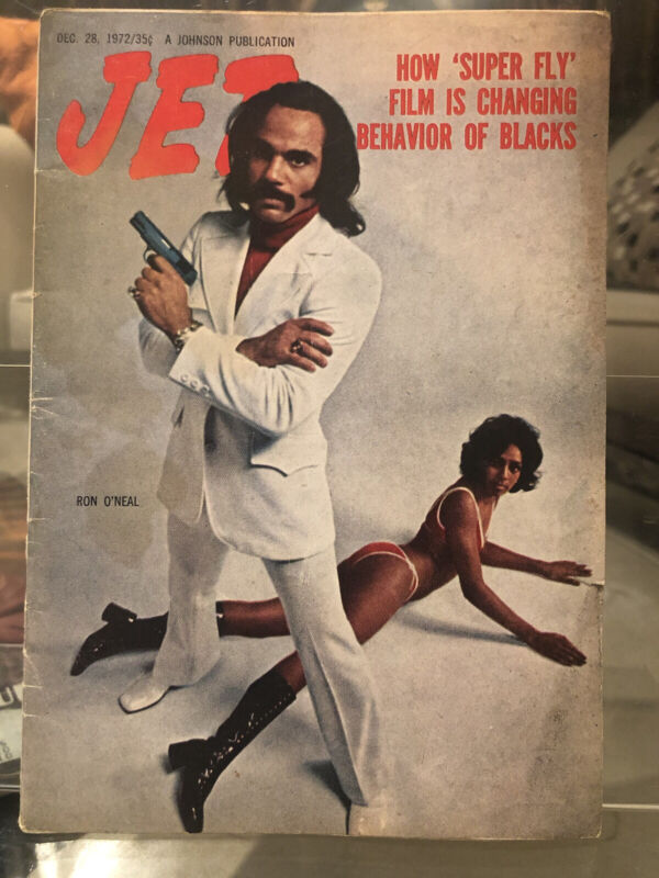 "1972 Jet Magazine +PRIEST+ in ""SUPER FLY"" Rare- Very hard to find"