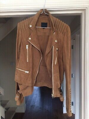 Gorgeous Hotel Particulier like Joseph Tan Suede Leather Jacket - RRP £1,500