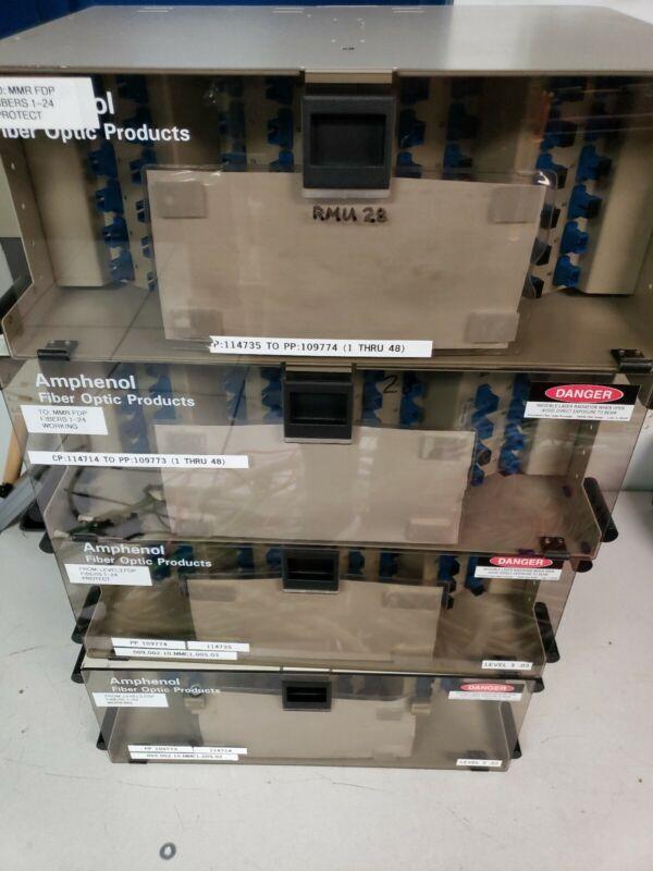 Amphenol 948-99999-10051 - 48 port SC fiber patch panel