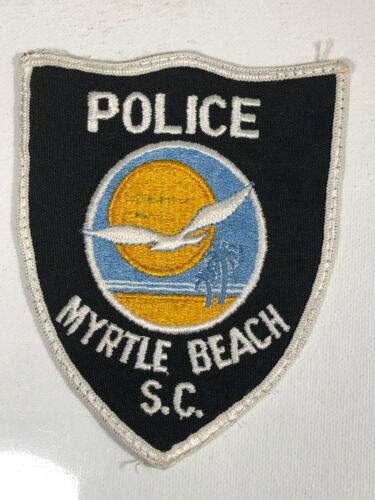Vintage Myrtle Beach Police Patch South Carolina SC