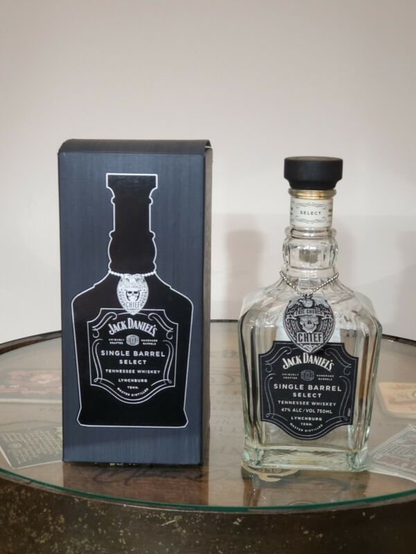 Jack Daniels Single Barrel ERIC CHURCH Limited Edition Box Bottle and Medallion