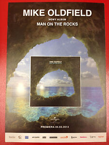 MIKE OLDFIELD - MAN ON THE ROCKS / RUFUS WAINWRIGHT - Polish promo FLYER - <span itemprop='availableAtOrFrom'>Gdynia, Polska</span> - MIKE OLDFIELD - MAN ON THE ROCKS / RUFUS WAINWRIGHT - Polish promo FLYER - Gdynia, Polska