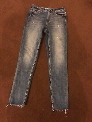 Womens Zara Skinny Jeans Size 10 R
