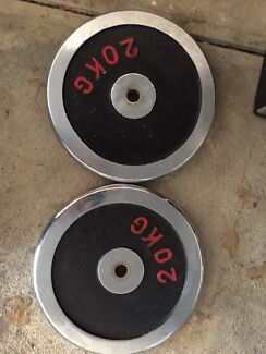 Gym weight 40kg stainless steel with iron rod Epping Ryde Area Preview