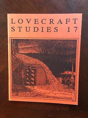Lovecraft Studies 17 Necronomicon Press Fall 1988