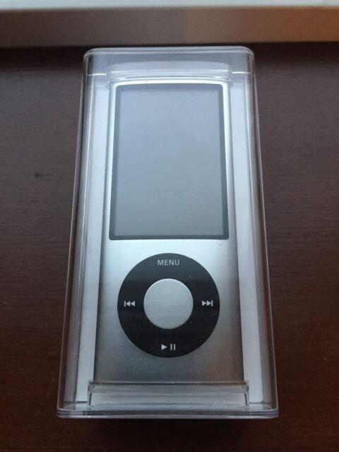Apple 8GB iPod Nano 5th Generation Silver Camera A1320