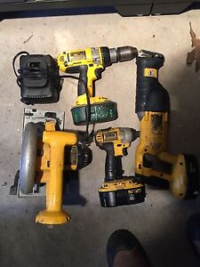 Dewalt 18v power tool combo