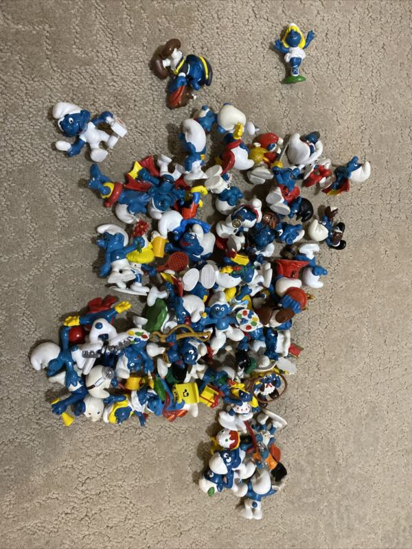 Bully and Schleich PVC Figurines CHOOSE Combine Shipping! The Smurfs