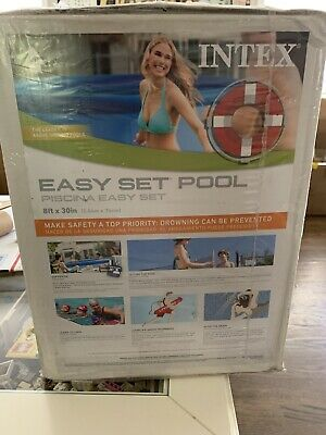 Intex 8ft X 30in Easy Set Above Ground Pool w/ pump 28111EH 🔥🔥IN STOCK🔥🔥