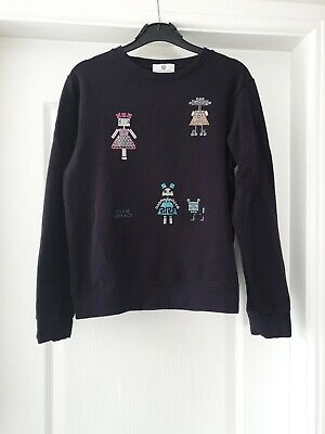 versace Girls Jumper Age 12 RRP £173 worn twice only