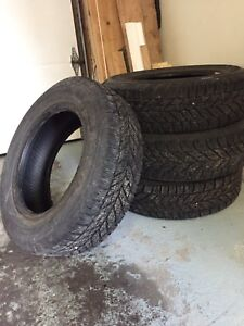 """2 sets pneus 14"""" été et hiver 185/65r14"""