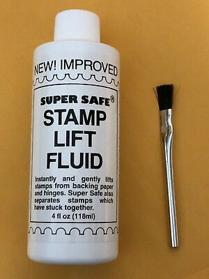 SUPERSAFE STAMP LIFT FLUID - ***25% WILL BE DONATED TO VETERAN CHARITIES***