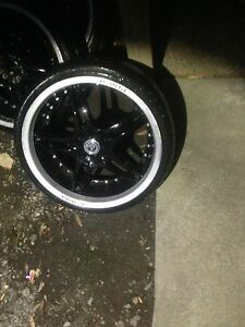 "20"" PDW WHEELS FOR COMMODORE Campbellfield Hume Area Preview"