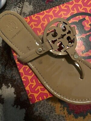 TORY BURCH Miller Leather Sandal *SINGLE Right SHOE ONLY* Amputee Sand Size 8