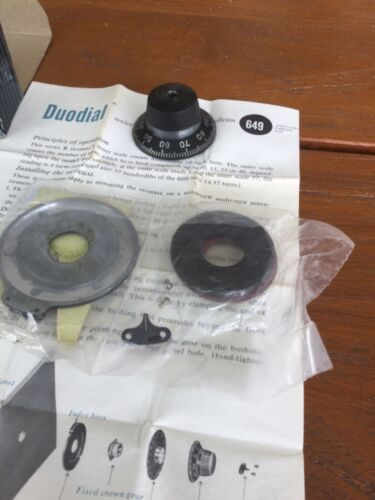 Collins KWS-1 tune or load knob NOS OEM