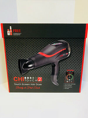 CHI FAROUK TOUCH SCREEN 2 LOW EMF PROFESSIONAL HAIR DRYER - NEW - 2nd