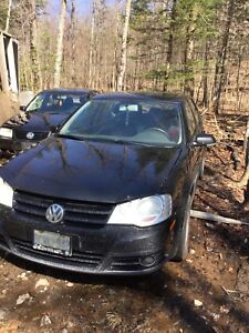2008 vw golf and 2002 jetta