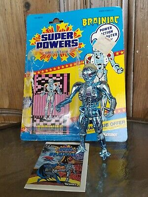 Vintage Kenner DC Comics Super Powers Collection Brainiac Action Figure