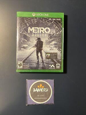 NEW METRO EXODUS XBOX ONE XB1 SEALED USA SELLER FREE SHIPPING!!
