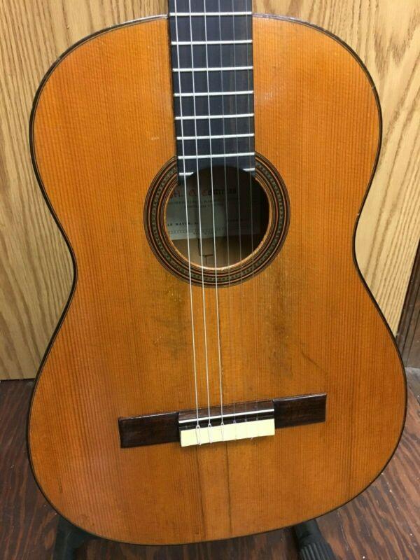 Vintage Contreras Classical-Flamanco Guitar