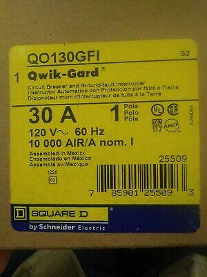 Sq D Qo130gfi Breaker