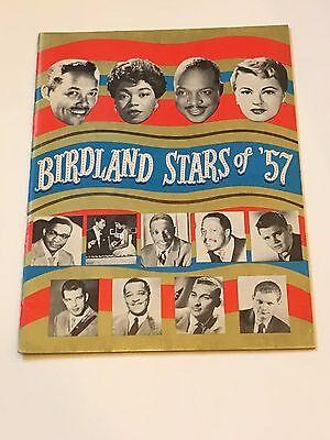 Birdland Stars of '57-Chet Baker, Sarah Vaughn,Count Basie Jazz Program 1957