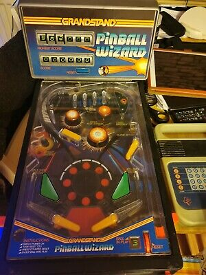 Grandstand Pinball Wizard Boxed And Instructions