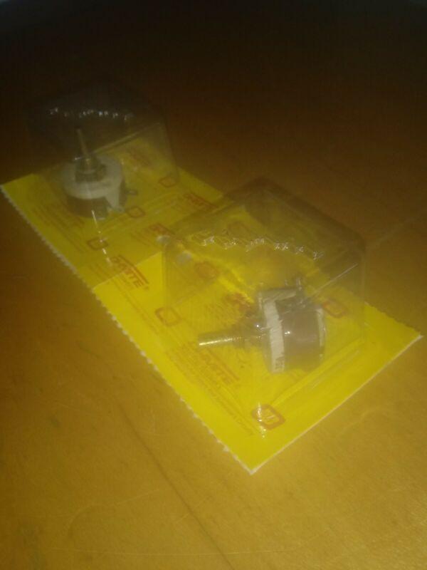 OHMITE RHEOSTAT RES100 MODEL E 12.5 WATT 100 OHM NEW IN BOX // LOT OF (2) - L@@K