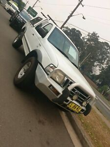 2005 FORD COURIER TURBO 4WD