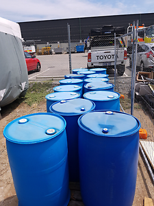 Plastic 44 Gallon drums -EA - Welshpool Canning Area Preview