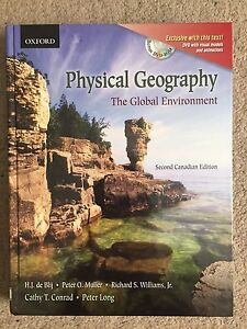 Physical Geography: The Global Environment 2nd Cdn Ed Textbook