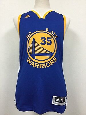 e985efbe9ad8a Golden State Warriors adidas NBA Official Swingman Road Jersey Kevin Durant   35